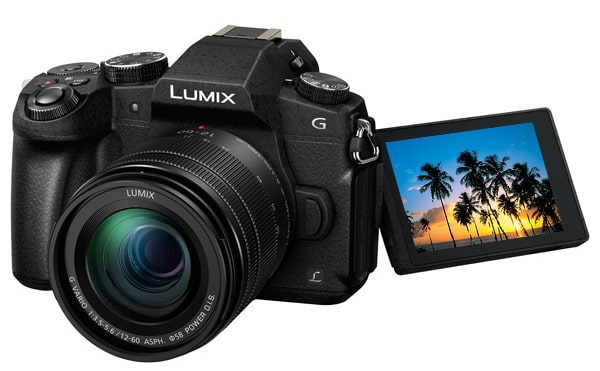 Panasonic Lumix DMC-G80 Kit 12-60 mm Black