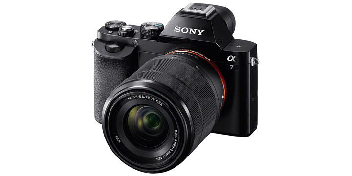 Sony Alpha 7 II 28-70mm Kit Black