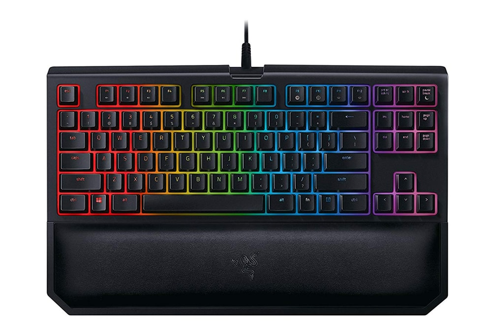 Razer BlackWidow TE Chroma V2 Orange Switch USB